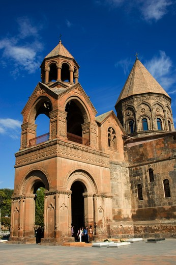 Stock Photo: 4163-12528 ARMENIA, YEREVAN, CATHEDRAL OF ECHMIADZIN, HEADQUARTERS OF THE ARMENIAN ORTHODOX CHURCH