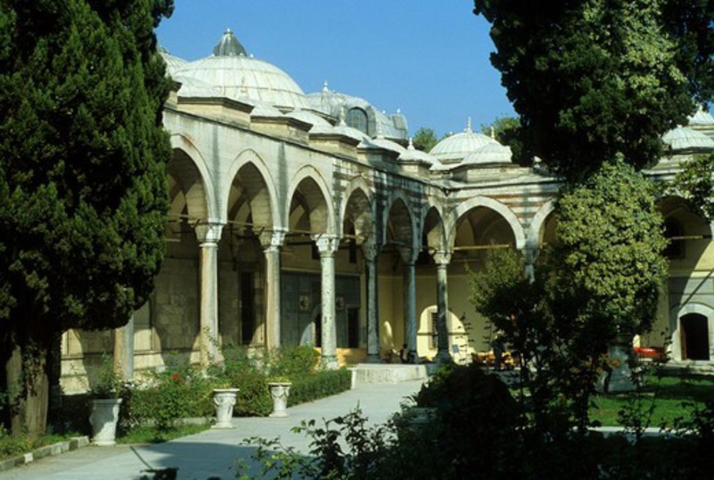 Stock Photo: 4163-12708 TURKEY, ISTANBUL, TOPKAPI MUSEUM
