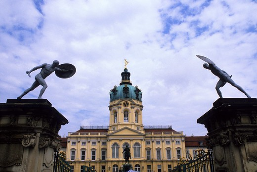 Stock Photo: 4163-12796 GERMANY, WEST BERLIN, CHARLOTTENBURG CASTLE