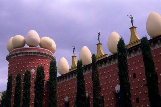 SPAIN, FIGUERES, SALVADOR DALI MUSEUM : Stock Photo