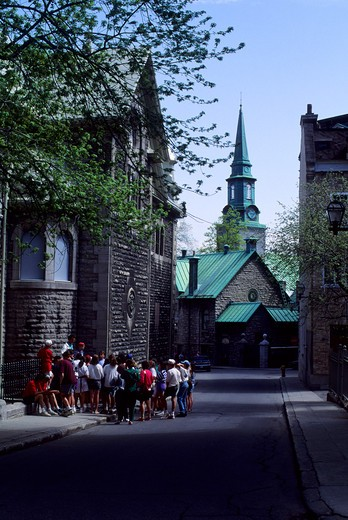 Stock Photo: 4163-1929 CANADA,QUEBEC,QUEBEC CITY, CATHEDRAL OF THE HOLY TRINITY