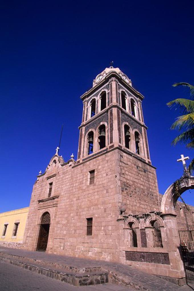 Stock Photo: 4163-3781 MEXICO, BAJA CALIFORNIA, LORETO, JESUIT MISSION (1697)