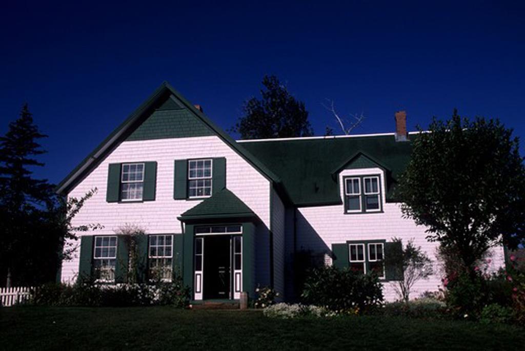 CANADA, PRINCE EDWARD ISLAND, CAVENDISH, GREEN GABLES NATIONAL PARK, HOUSE : Stock Photo