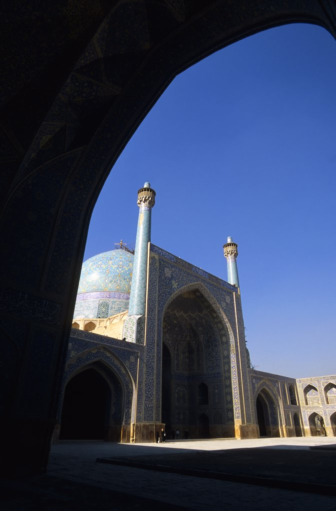 Iran, Esfahan, Eman Khomeni Square, Imam (Masjed-E Emam) Mosque : Stock Photo