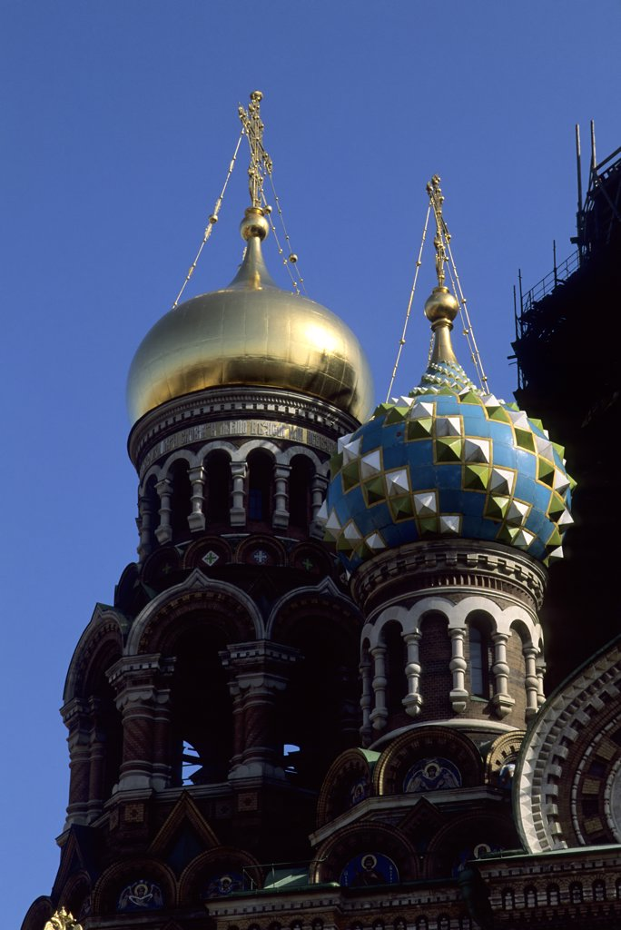 Russia, St. Petersburg, Redemption Church : Stock Photo