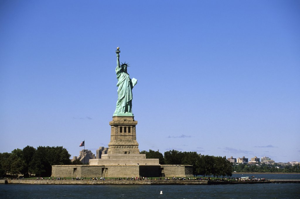 Stock Photo: 4168-11099 Usa, New York, Statue Of Liberty