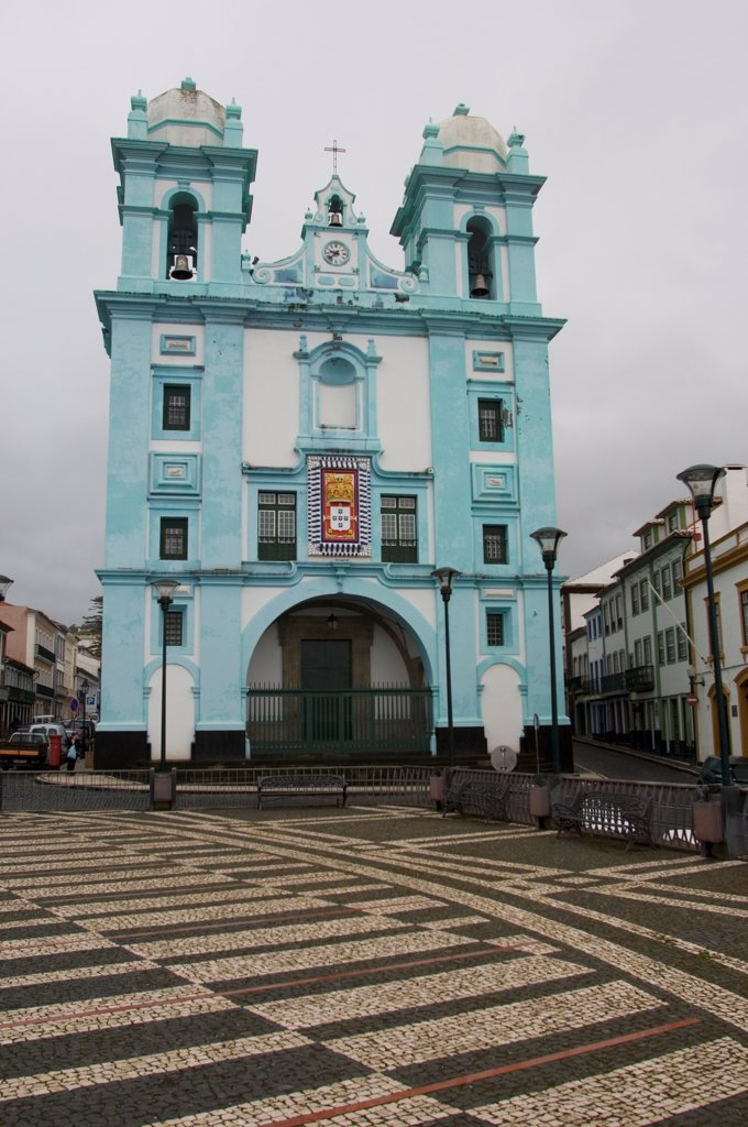 Stock Photo: 4168-14574 Portugal, Azores Islands, Terceira Island, Angra Do Heroismo, Misericordia Church