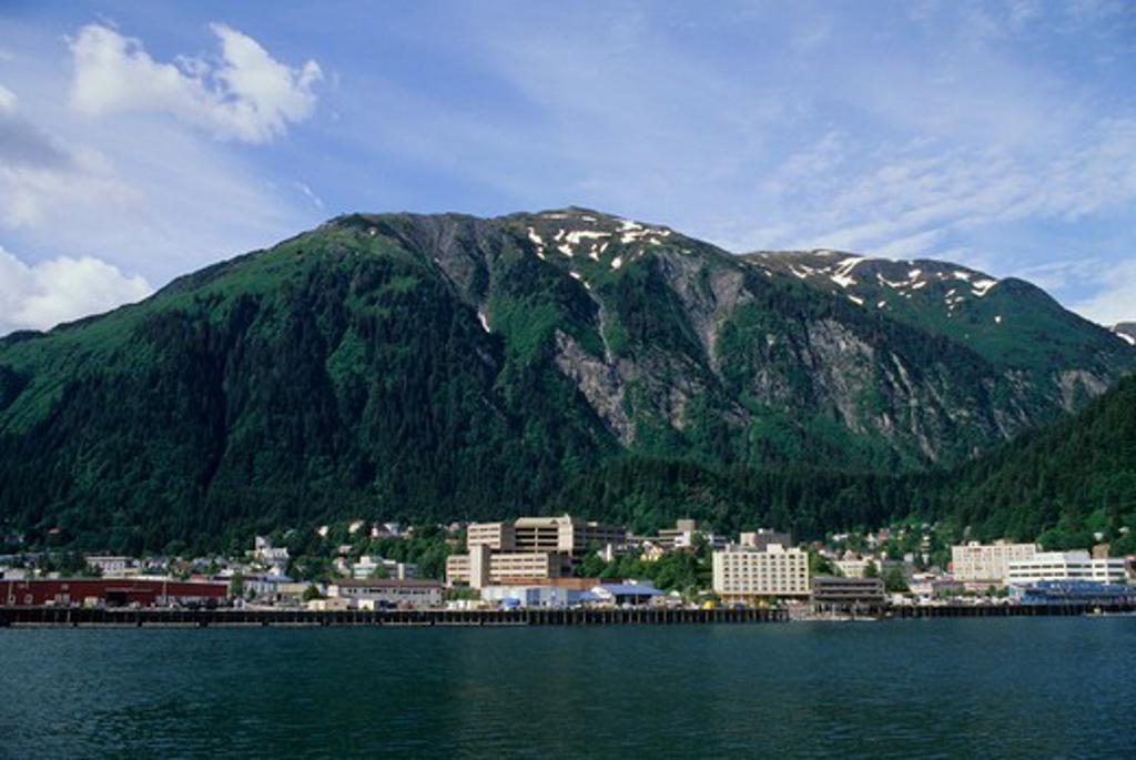 Stock Photo: 4168-3437 Usa, Alaska, View Of Juneau