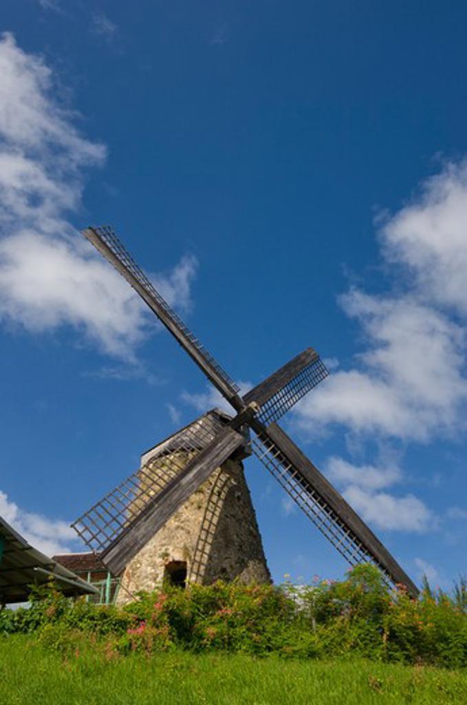 Barbados, morgan lewis sugar mill : Stock Photo