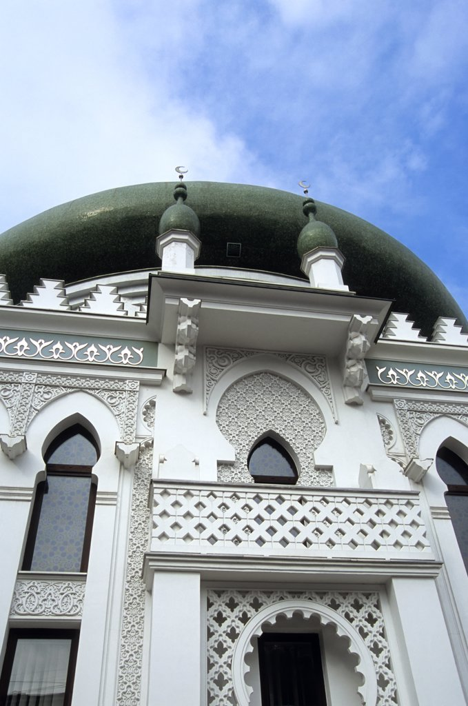 UKRAINE, ODESA, ARAB CULTURAL CENTER (MOSQUE) : Stock Photo