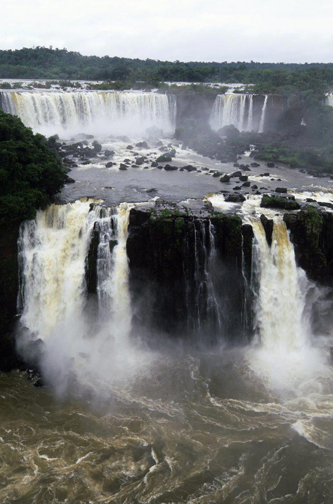 Brazil, Iguassu Falls : Stock Photo