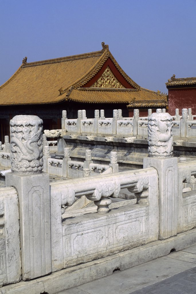China, Beijing, Forbidden City : Stock Photo