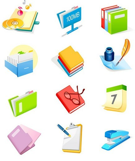 Various office supply items : Stock Photo