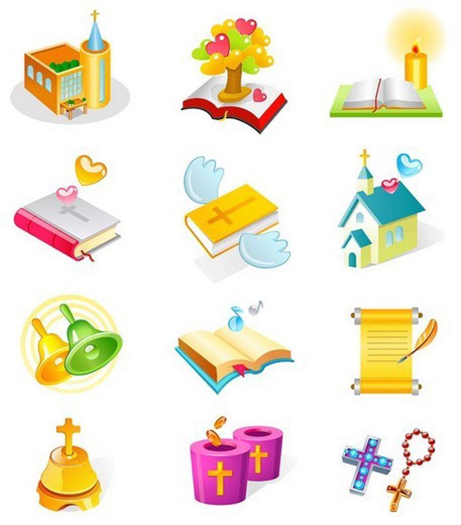 Various religious favors : Stock Photo