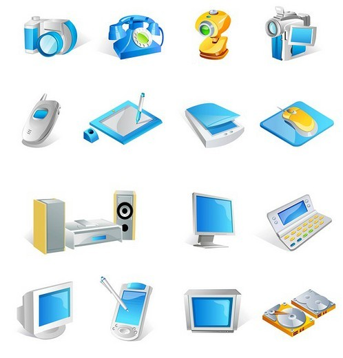 Stock Photo: 4170R-5079 Various electronic gadgets