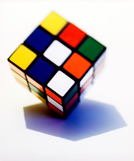 Stock Photo: 4176-1612 Rubik's Cube
