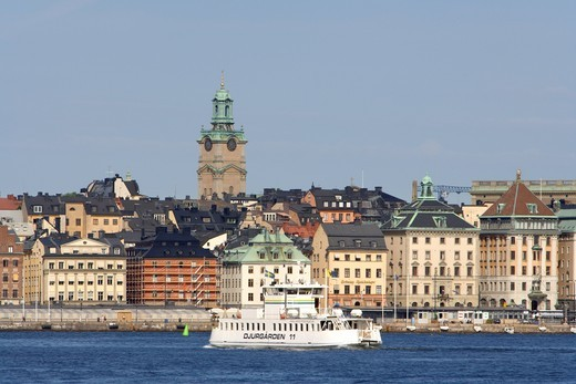 Stock Photo: 4176-16501 SWEDEN STOCKHOLM THE OLD TOWN