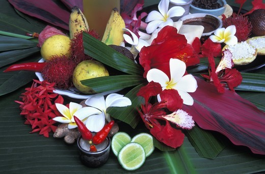 TROPICAL STILL LIFE BALI INDONESIA : Stock Photo