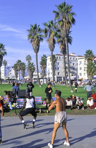 USA CALIFORNIA LOS ANGELES VENICE BEACH : Stock Photo