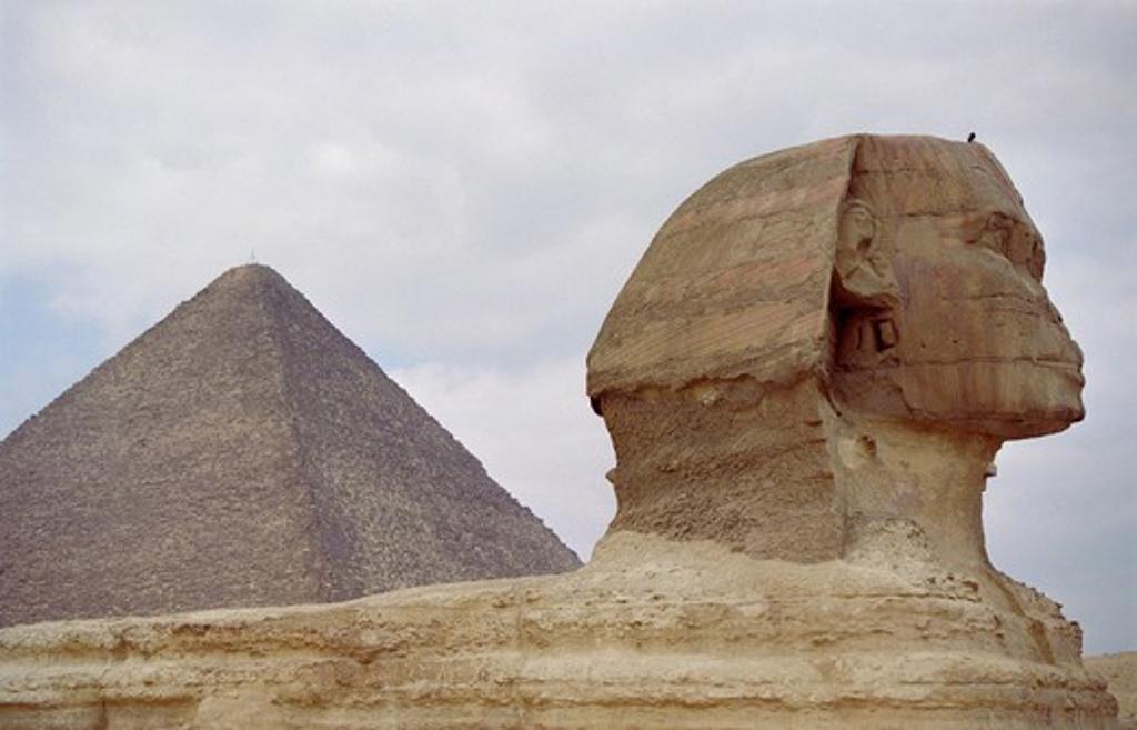 The Sphinx : Stock Photo