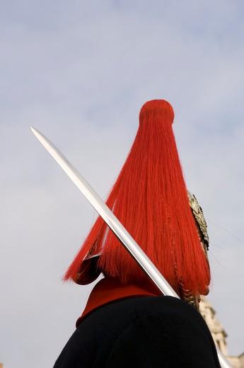 Stock Photo: 4176-27209 Close-up of a British Royal Guard, London, England