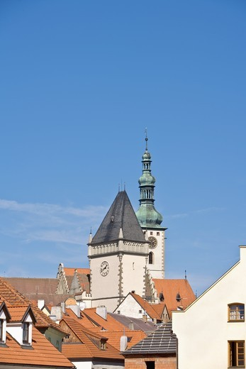 CZECH REPUBLIC SOUTHERN BOHEMIA TOWN OF TABOR : Stock Photo