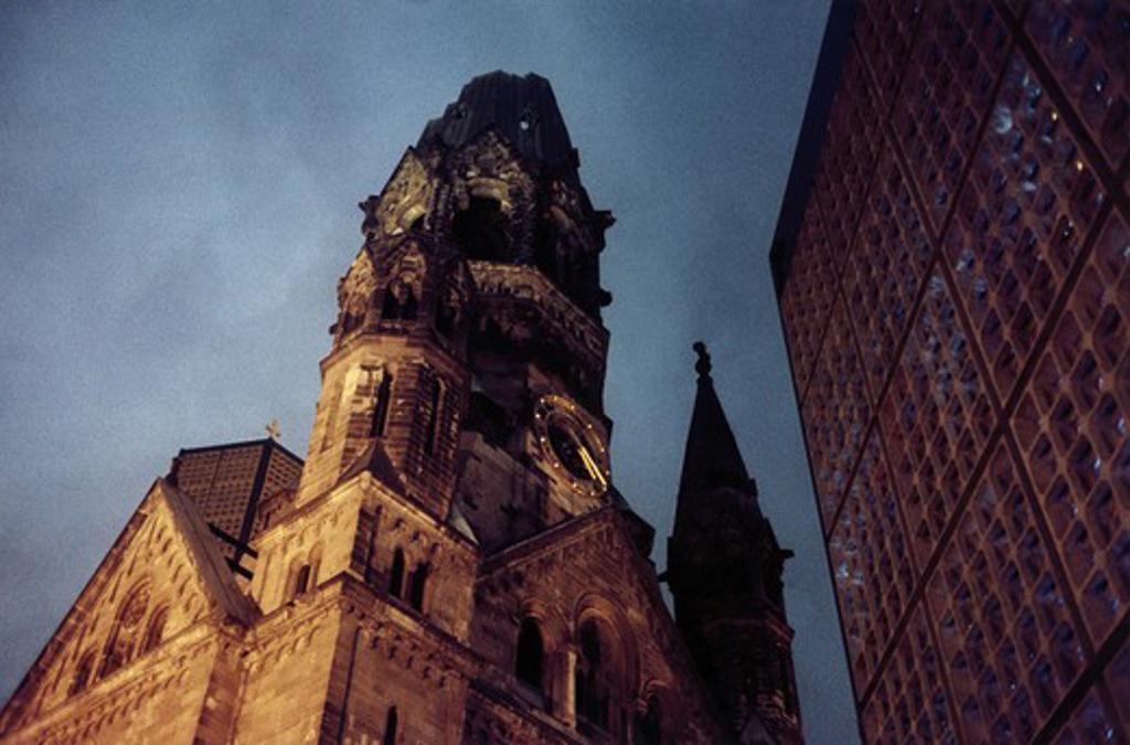 Germany, Berlin, Kaiser Wilhelm Memorial Church : Stock Photo