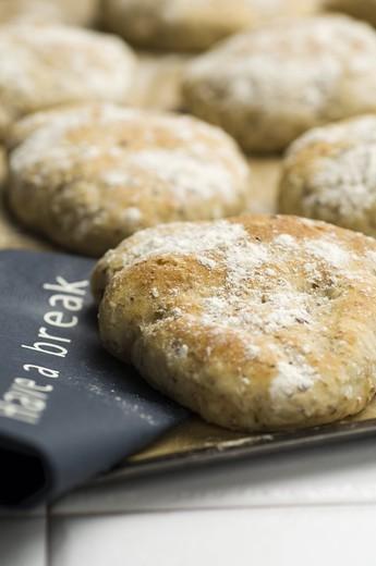 Stock Photo: 4176-36369 Newly baked bread