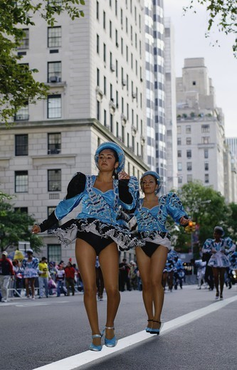 Hispanic Parade, New York, USA, 2007 : Stock Photo