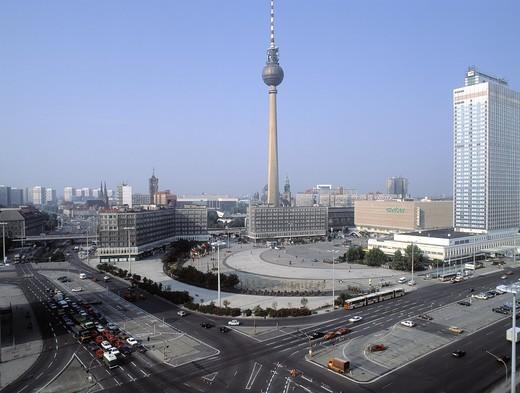 Berlin Alexander Square,Germany : Stock Photo