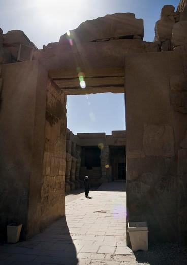 The  Amun temple of Luxor/Karnak in Egypt (Egypten) : Stock Photo