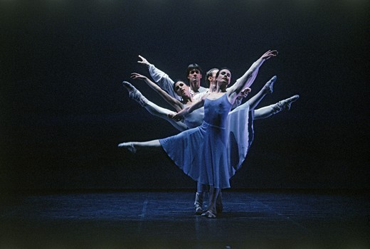Stock Photo: 4176-7120 Ballet performance at Stockholm Opera House