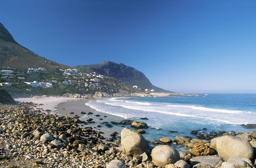 SOUTH AFRICA WESTERN CAPE CAPE TOWN HOUT BAY LLANDUDNO : Stock Photo
