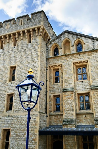 Stock Photo: 4183R-7215 Tower of London historic building in England