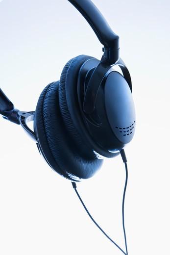 Stock Photo: 4184R-10746 Still life of audio head phones.