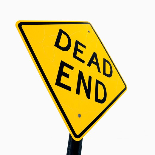 Road sign reading Dead End. : Stock Photo