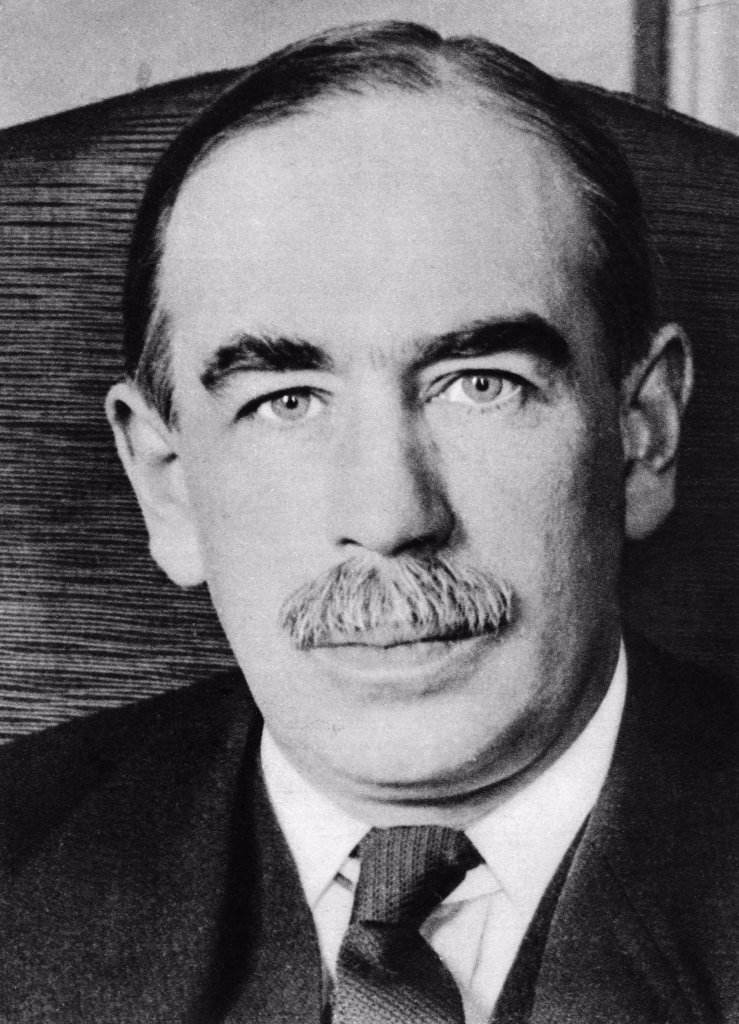 Stock Photo: 4186-14851 1930S Portrait John Maynard Keynes Economist Baron Of Tilton