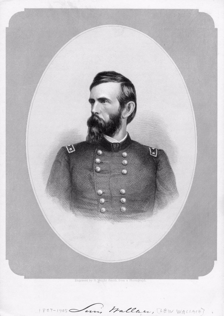 1860S 1800S Union General Lewis Lew Wallace Lawyer Politician Author Wrote Novel Ben Hur : Stock Photo