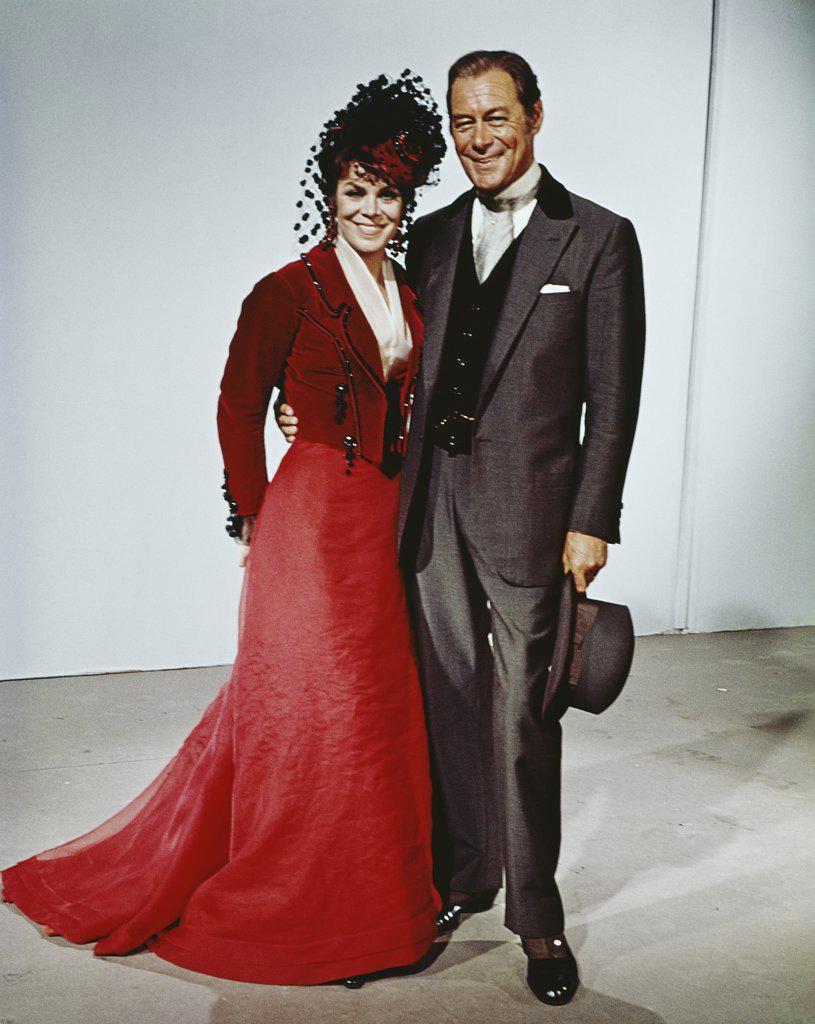 1960S 1968 Comedy A Flea In Her Ear Rex Harrison Rachel Roberts : Stock Photo