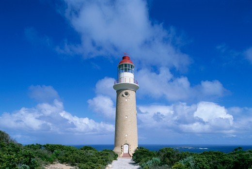 Cape du Couedic Lighthouse : Stock Photo