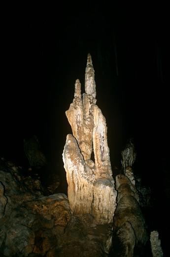Ngilgi Caves, Western Australia, Australia : Stock Photo