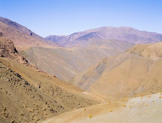 Stock Photo: 4192-1122 Tizi-N-Tichka, Atlas Mountains Area, Morocco