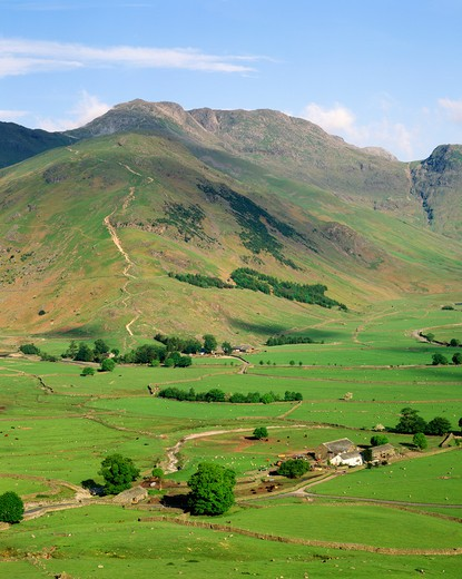 Great Langdale, Cumbria, England : Stock Photo
