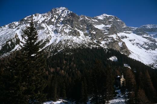 Obernberg, Tyrol, Austria : Stock Photo
