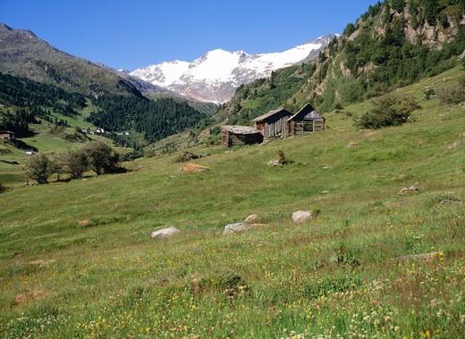 Stock Photo: 4192-141 Obergurgl, Tyrol, Austria