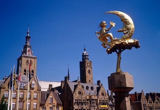 Dixmuide, Belgium : Stock Photo