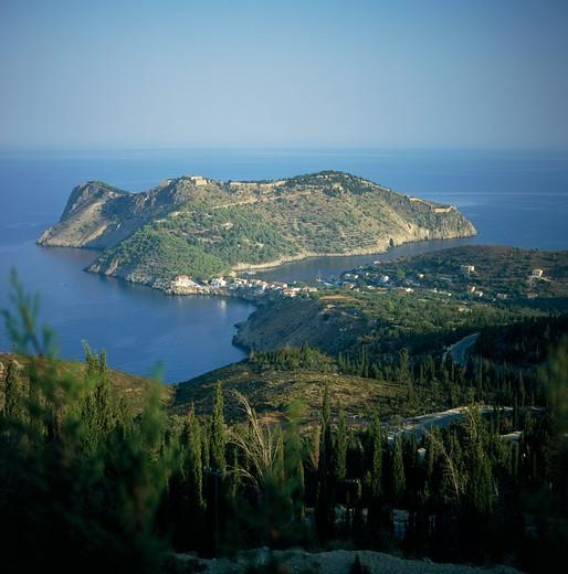 Asos, Kefalonia, Greece : Stock Photo