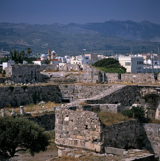 Stock Photo: 4192-1661 Kos Town, Kos, Greece