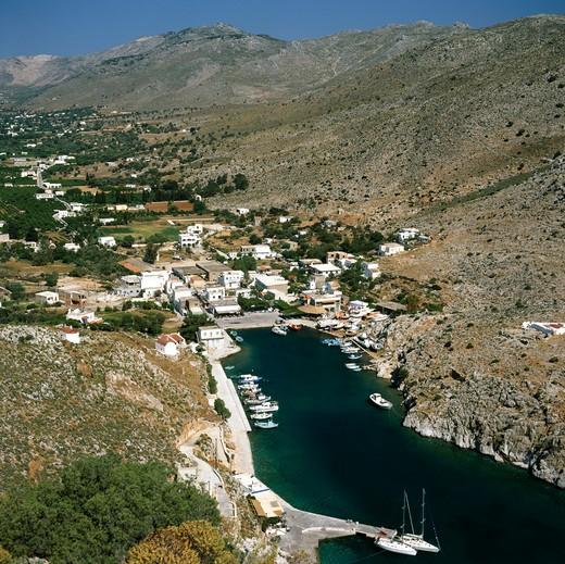 Stock Photo: 4192-1666 Vathi, Kalymnos, Greece