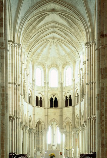 Vezelay, Burgundy, France : Stock Photo